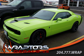 green-hellcat-charger-hood