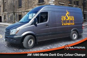 Matte Dark Grey Colour Change